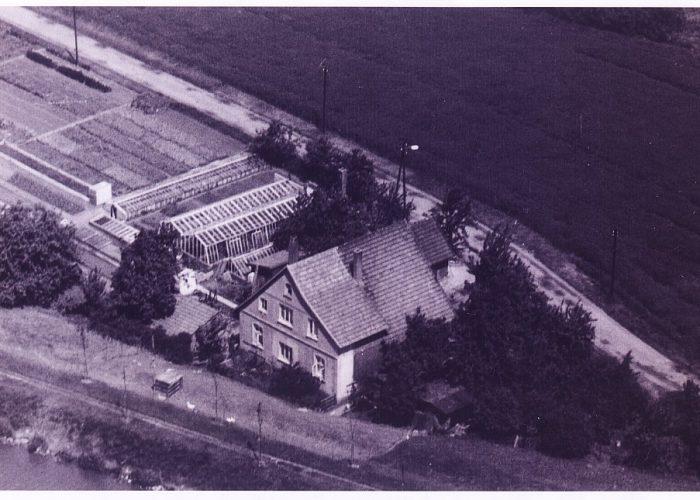 Luftaufnahme alte Gärtnerei 1900_1977