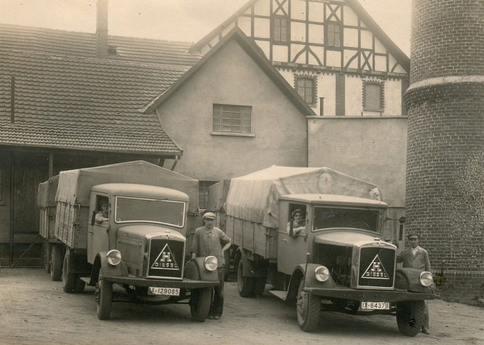 1938 Hansa Lkw im Krieg konfisziert