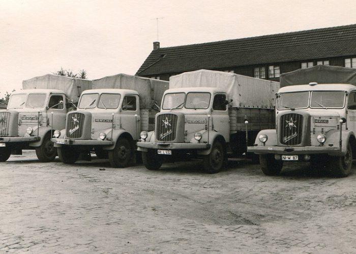 1959 Lkw-Flotte Stahlhut