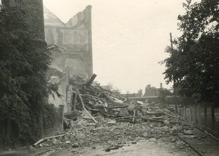 1960 Trümmer auf dem Piwitt nach Brand