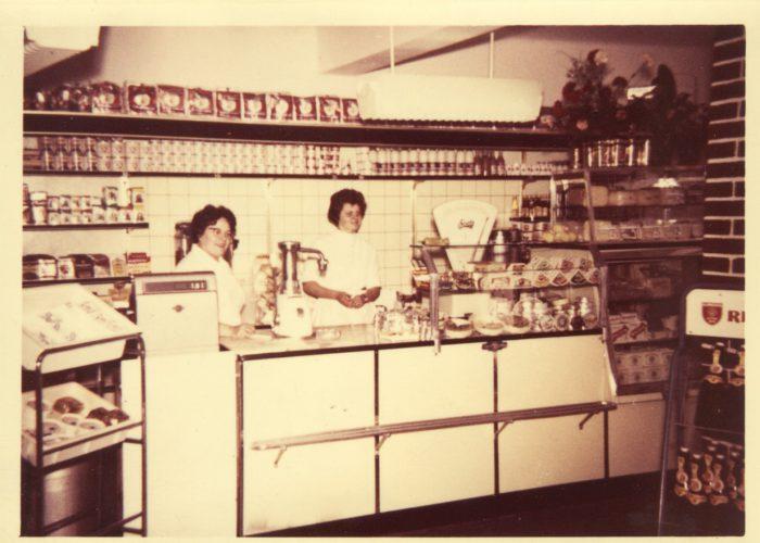 Im Pavillon Bachstrasse 1 Anfang der 60er