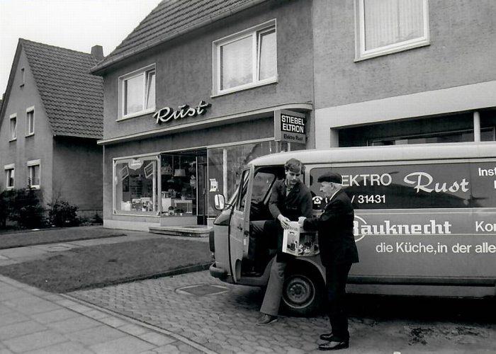 Kundendienstwagenb Fiat 238 70er Jahre