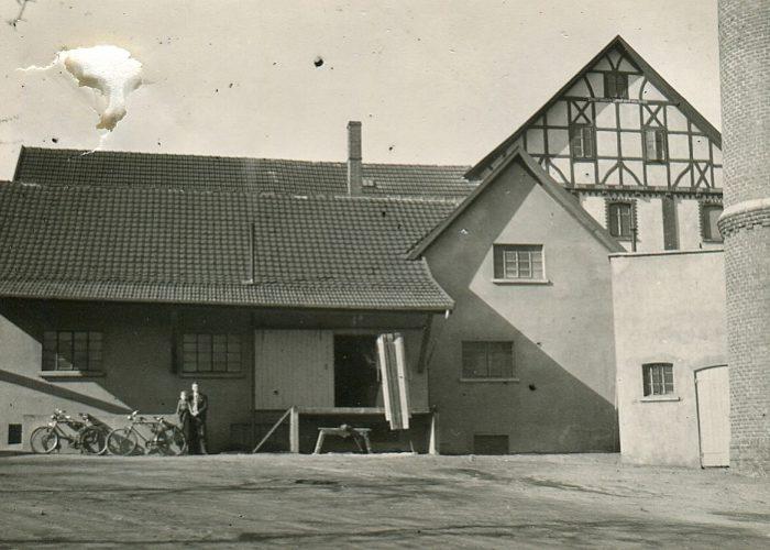 Mühle Hofansicht ca. 19..